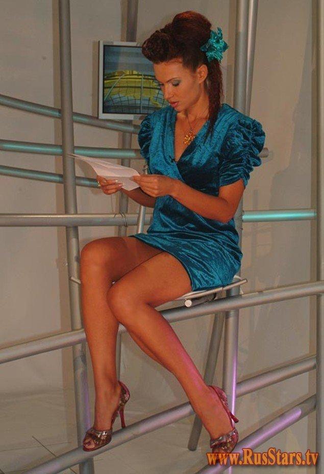 Самые сексуальные ножки отечественного телевидения
